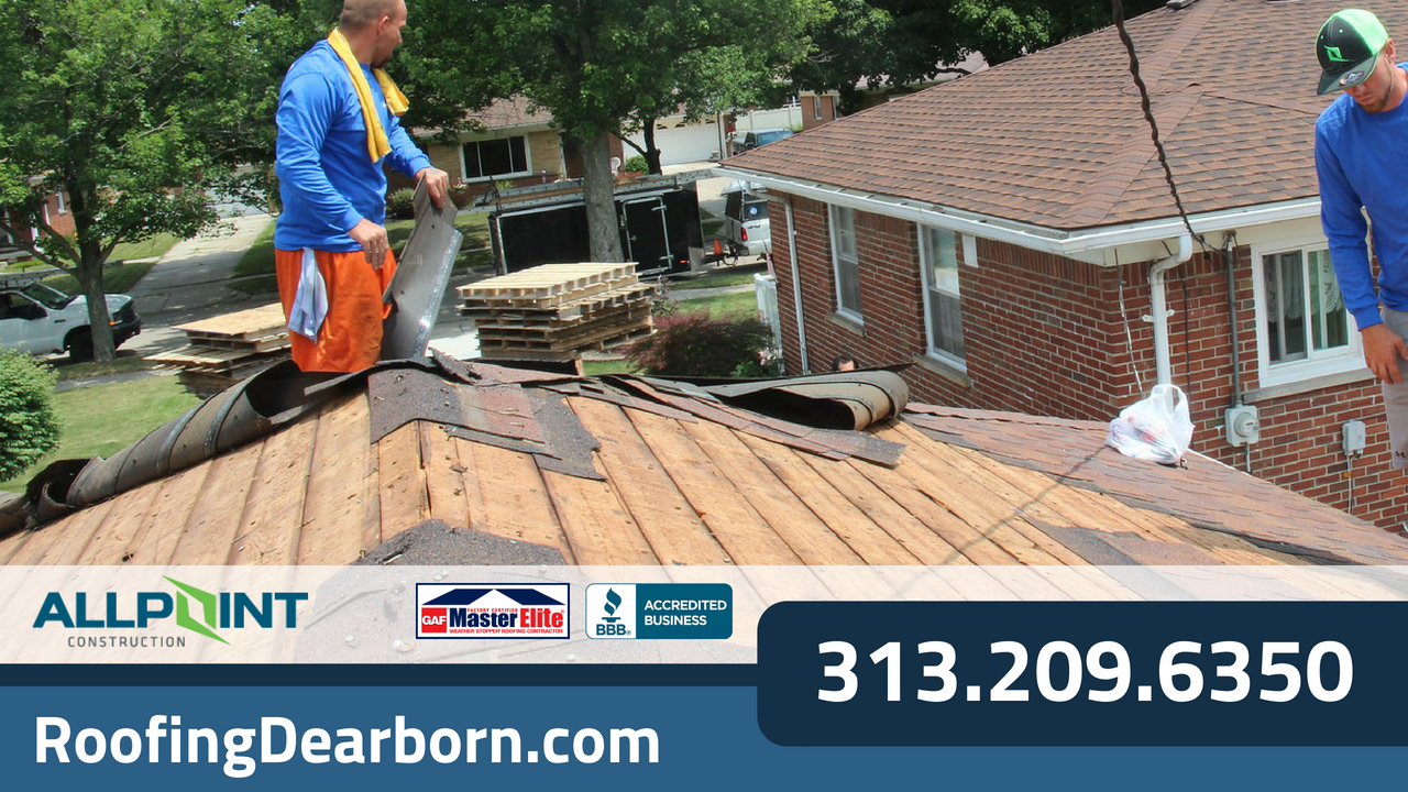 Signs Your Roof in Dearborn Michigan Needs Repair or Replacement