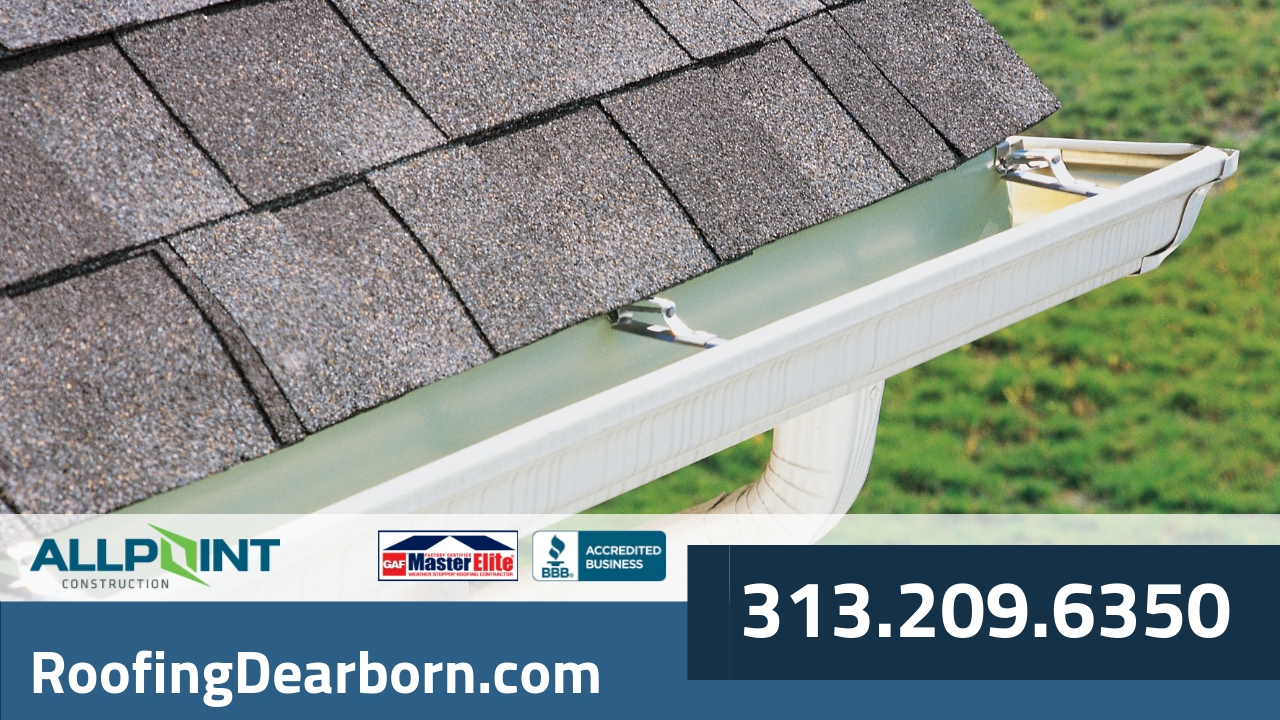 The Consequences of Improper Gutter Installation in Dearborn Michigan